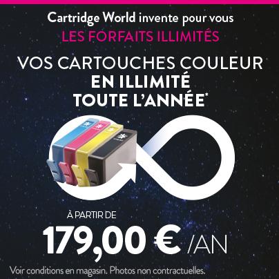 Vos cartouches couleur en illimité toute l'année - Cartridge World Metz
